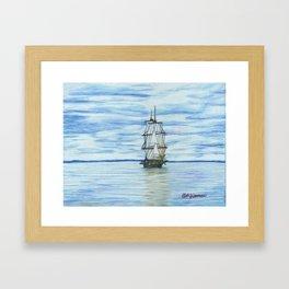 US Brig Niagara Framed Art Print