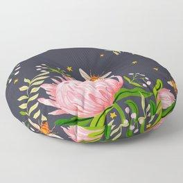 Honey Moon Bee Floor Pillow