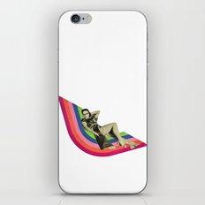 Ride the Rainbow iPhone & iPod Skin