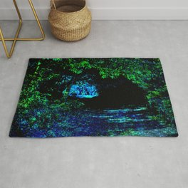 Enchanted Forest Path Rug