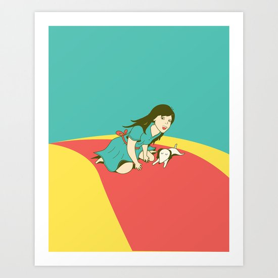 Off to see the wizard! Art Print