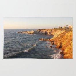 Sicily sunset Rug