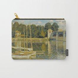 Claude Monet  -  Le Pont Dargenteuil Carry-All Pouch