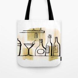 Liqueur Tote Bag