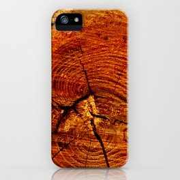 Wood Rings iPhone Case