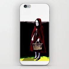 Little Blood Red Riding Hood iPhone & iPod Skin