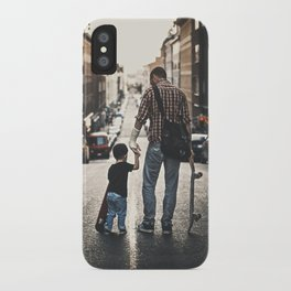 Skateboarders iPhone Case