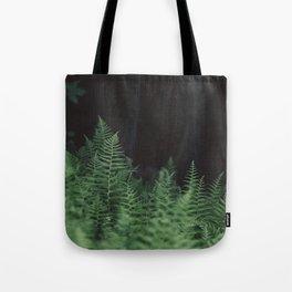 Wild Ferns Tote Bag