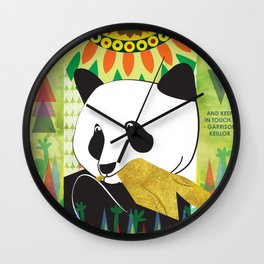Be Well Quote Wall Clock
