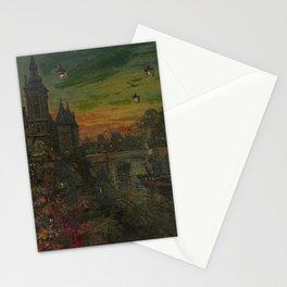 KOROVIN, KONSTANTIN (1861-1939) Le Pont Neuf, Paris Stationery Cards