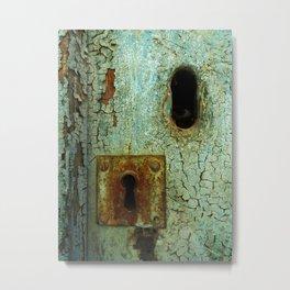 Keyhole 2  Metal Print