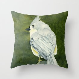 On Top of the World–Song Bird Throw Pillow