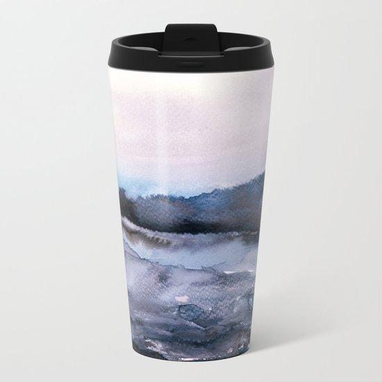 layers of colour 2 Metal Travel Mug