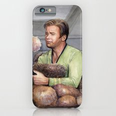 Captain Kirk and Tribbles Sci-Fi Portrait Slim Case iPhone 6s
