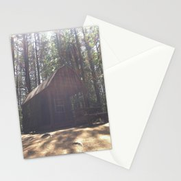 In a Cabin in the Woods Stationery Cards