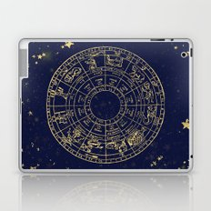 Metallic Gold Vintage Star Map Laptop & iPad Skin
