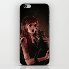 Here Kitty iPhone Skin