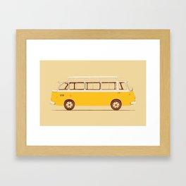 Yellow Van II Framed Art Print