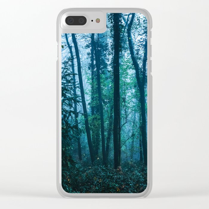 Sacred Woods Clear iPhone Case