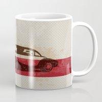 car Mugs featuring car by Lyndi888