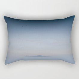 Peaceful Mountain Rectangular Pillow