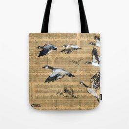 Highs/Lows Tote Bag