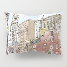 The Old State House Pillow Sham