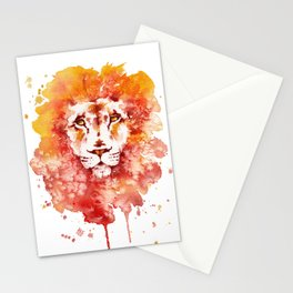 PRIDE (Water colour Lion) Stationery Cards