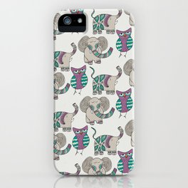 Whimsical Animals iPhone Case