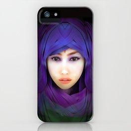 Model Portrait iPhone Case