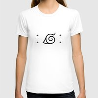 kakashi T-shirts featuring Naruto Headband by Kesen