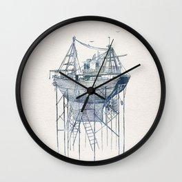 Dry Dock II Wall Clock