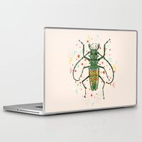 insect Laptop & iPad Skins featuring Insect V by dogooder