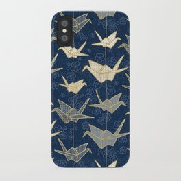 Sadako's Good Luck Cranes iPhone Case