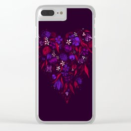 Still Bleeding Heart Clear iPhone Case