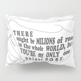 Unique Rose Pillow Sham