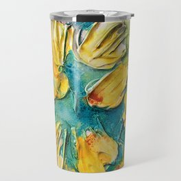 Color Vase Travel Mug