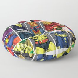 ABC's of Superheroes Floor Pillow