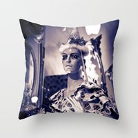 cupcake Throw Pillows featuring Cupcake by Aaron Fritts
