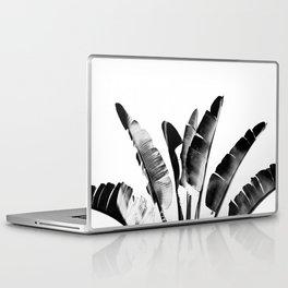 Traveler palm - bw Laptop & iPad Skin