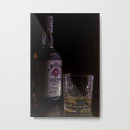 Jim Beam Metal Print