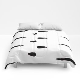 Rorschach (White) Comforters