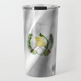 Guatemala Flag Travel Mug