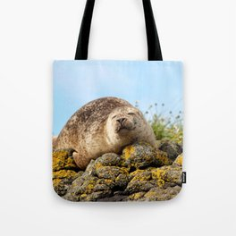 Seal at Dunvegan Castle, Scotland Tote Bag