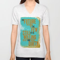 The Future Belongs to You Unisex V-Neck