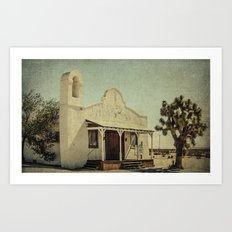 The Sanctuary Adventist Church a.k.a The Kill Bill Church Art Print