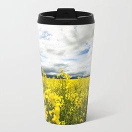 Fields of yellow Travel Mug