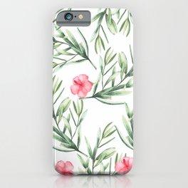 Delicate Hibiscus iPhone Case