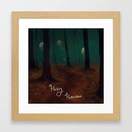 Halloween Ghosties Framed Art Print