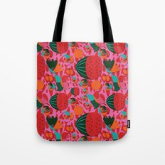 Watermelons and butterflies Tote Bag